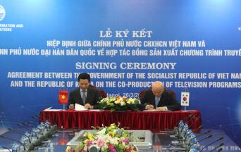 KCC, VIETNAM MIC CONCLUDE AGREEMENT ON CO-PRODUCTION OF TV PROGRAMS