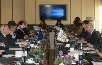 KCC Chairman Meets with European Parliament LIBE Committee Delegation, Discusses Adequacy Assessment and Strengthening Korea-EU Cooperation in Data Protection