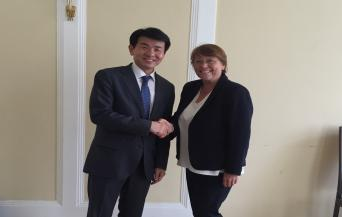 KCC Vice Chairman Hur Wook meets with EDPB Chair Andrea Jelinek to discuss data protection adequacy assessment