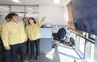 KCC Chairman Han Sang-hyuk visits Gwangju/Jeolla region