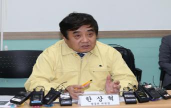 "KCC Chairman Han Sang-hyuk, ""The media is critical to combat Covid-19"""